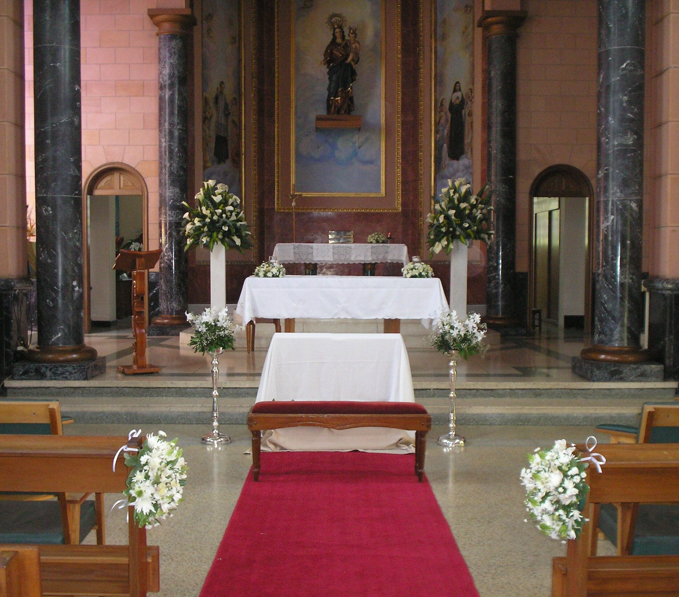 Capilla Maria Auxiliadora Casa Provincial Los Pedestales En