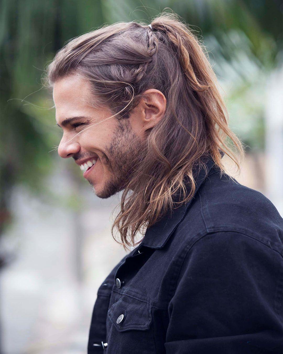 Peinados Para Cabello Largo Hombres Que No Conocias Peinados Para