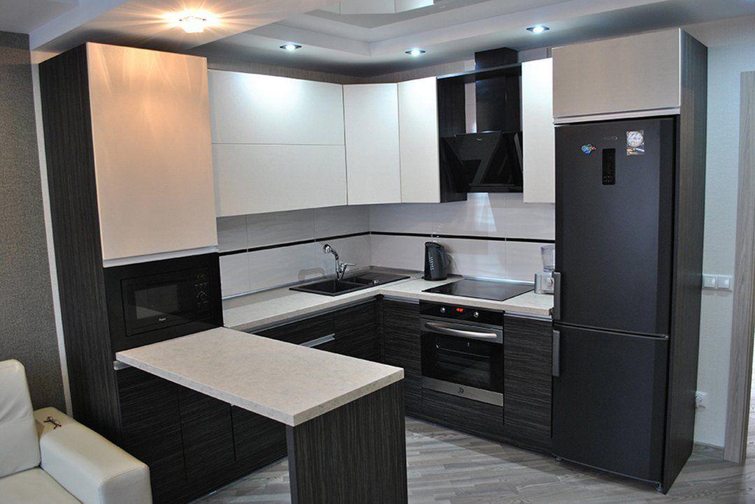 Маленькие Кухни С Холодильником (120+ Фото) - Как ...