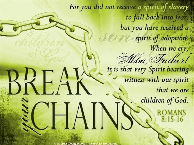 Romans 8:15,16 | Romans 8 15, Deliverance prayers, Romans