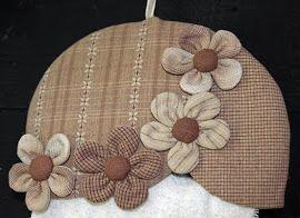 Ulla's Quilt World: Cathedral window quilt bag, flower pattern