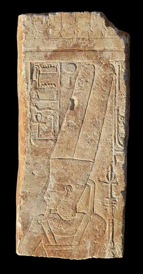 In Sudan, archaeologists unearthed a stele depicting an image of the god Amun that had been hammered out during the reign of the heretic pharaoh Akhenaten. The stele was restored after Akhenaten died and the god Amun once again became prominent