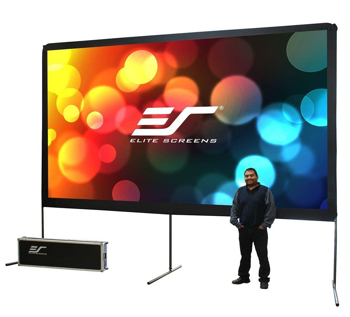 While Watching A Movie Outdoors The Biggest Problem One Faces Is The Light Overshoot And Do Projection Screen Large Projector Screen Portable Projector Screen