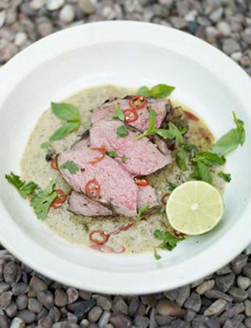 barbecued leg of lamb with thai green spices rezept lust auf lamm pinterest. Black Bedroom Furniture Sets. Home Design Ideas