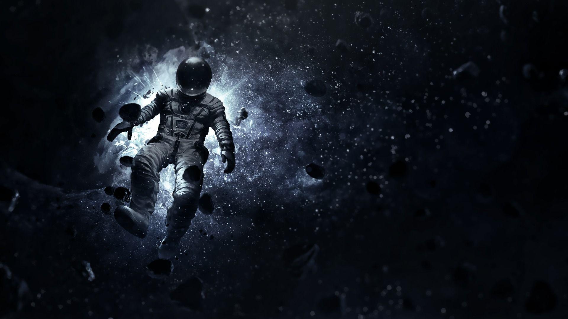 Astronaut Computer Wallpapers Desktop Backgrounds 1920x1080 Id 565696 Astronaut Wallpaper Space Pictures Astronaut