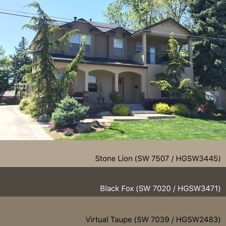 Taupe Exterior House Color Ideas: Stunning Exterior Paint Colors!