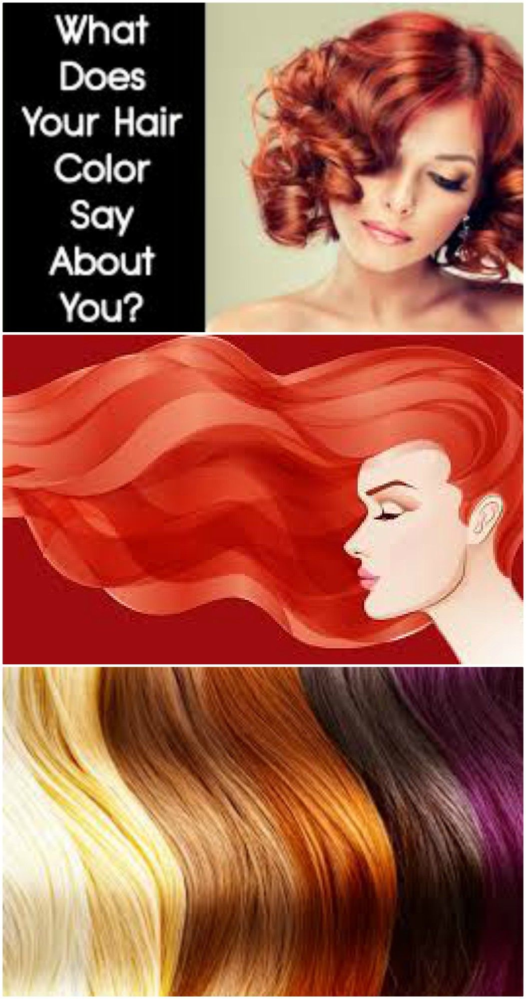 What Does Your Hair Color Say About You Color Craz Hair Health