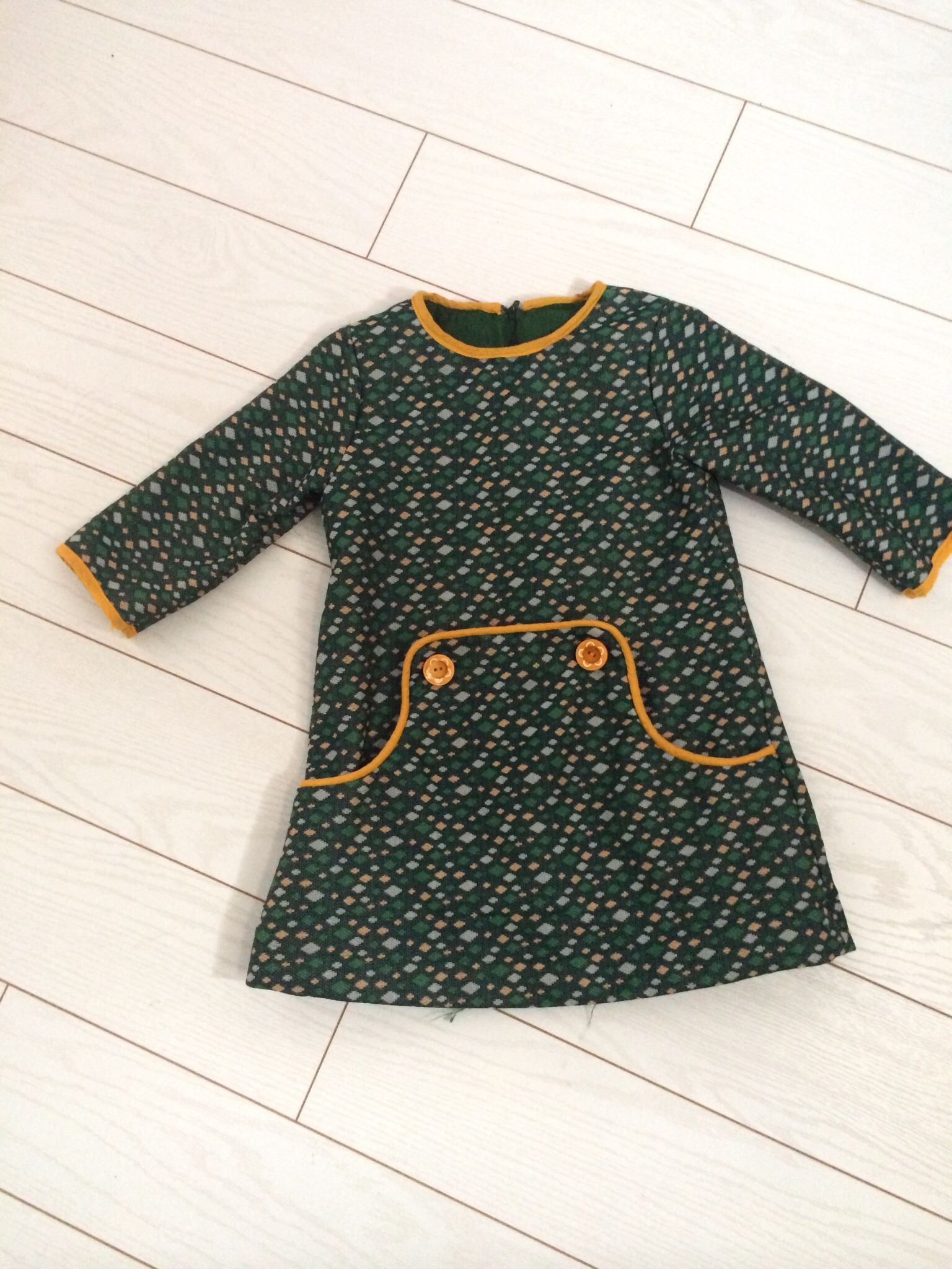 Louisa dress compagnie m   sewing dresses for a girl   Pinterest