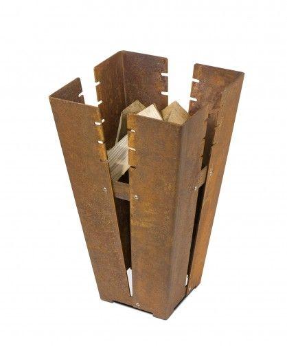 Feuerstelle Cortenstahl von Keilbach via www.qiphome.com, 283 EUR inkl. Versand