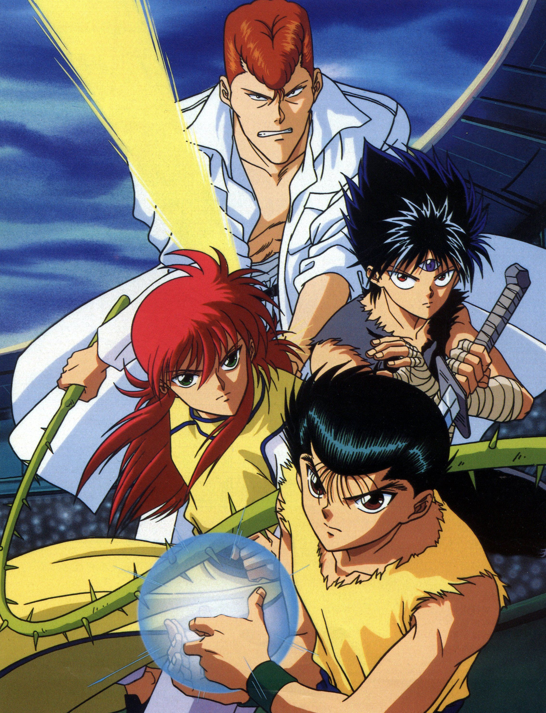 Anime Recommendations For Fans Of The Supernatural Yuyu Hakusho