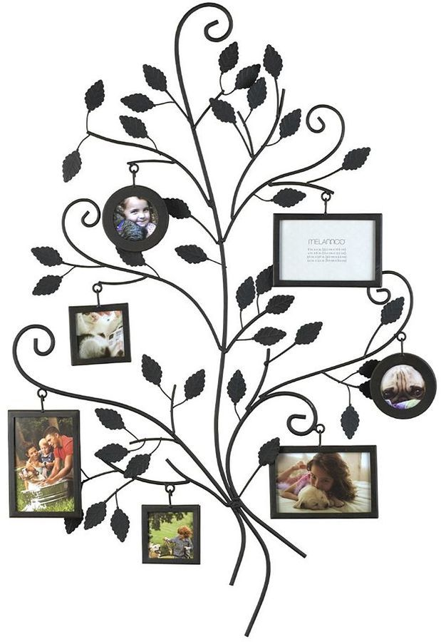 Melannco 7-Opening Family Tree Collage Frame | Trees, Display and ...
