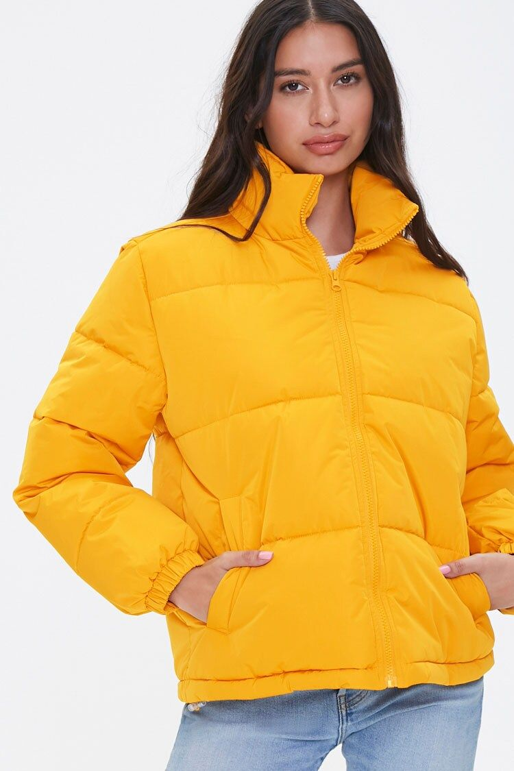 Quilted Puffer Jacket Forever 21 Quilted Puffer Jacket Jackets Puffer Jackets [ 1125 x 750 Pixel ]