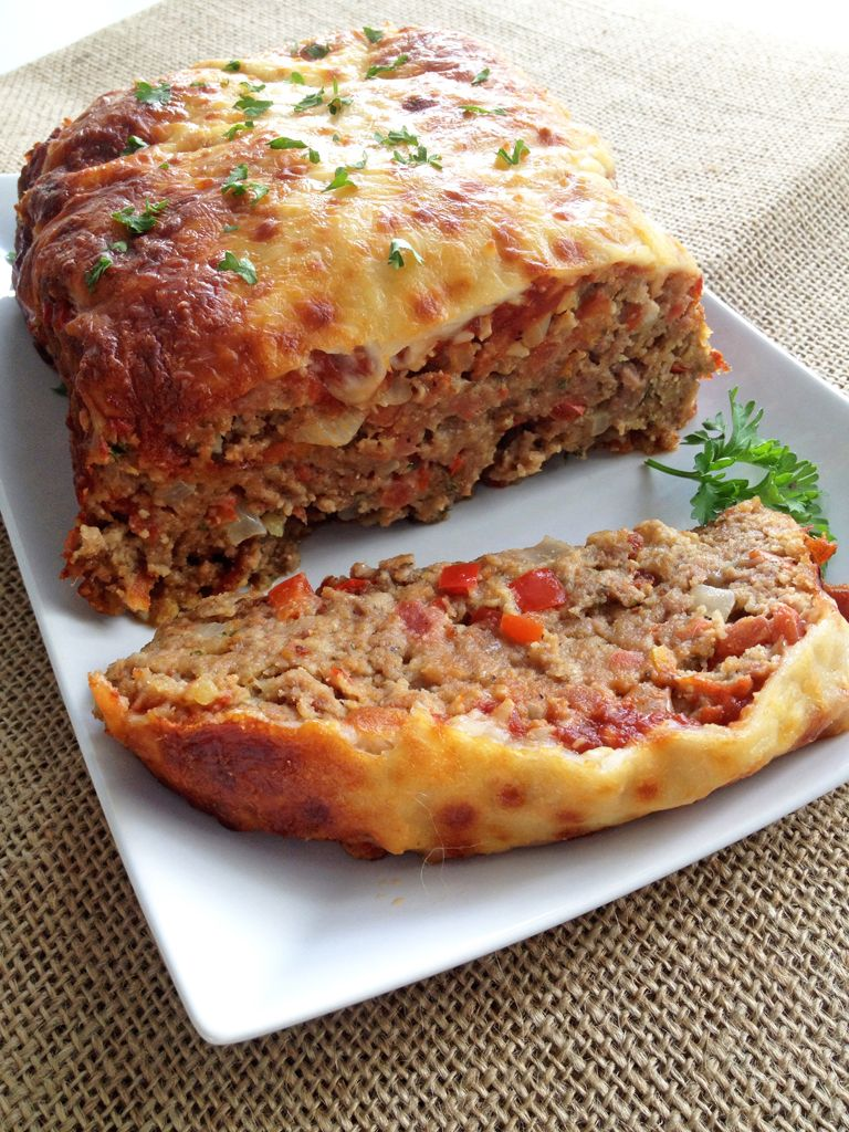 Italian-style meatloaf is a spin on the classic dish with Italian seasonings, sweet marinara sauce and lots of cheese!