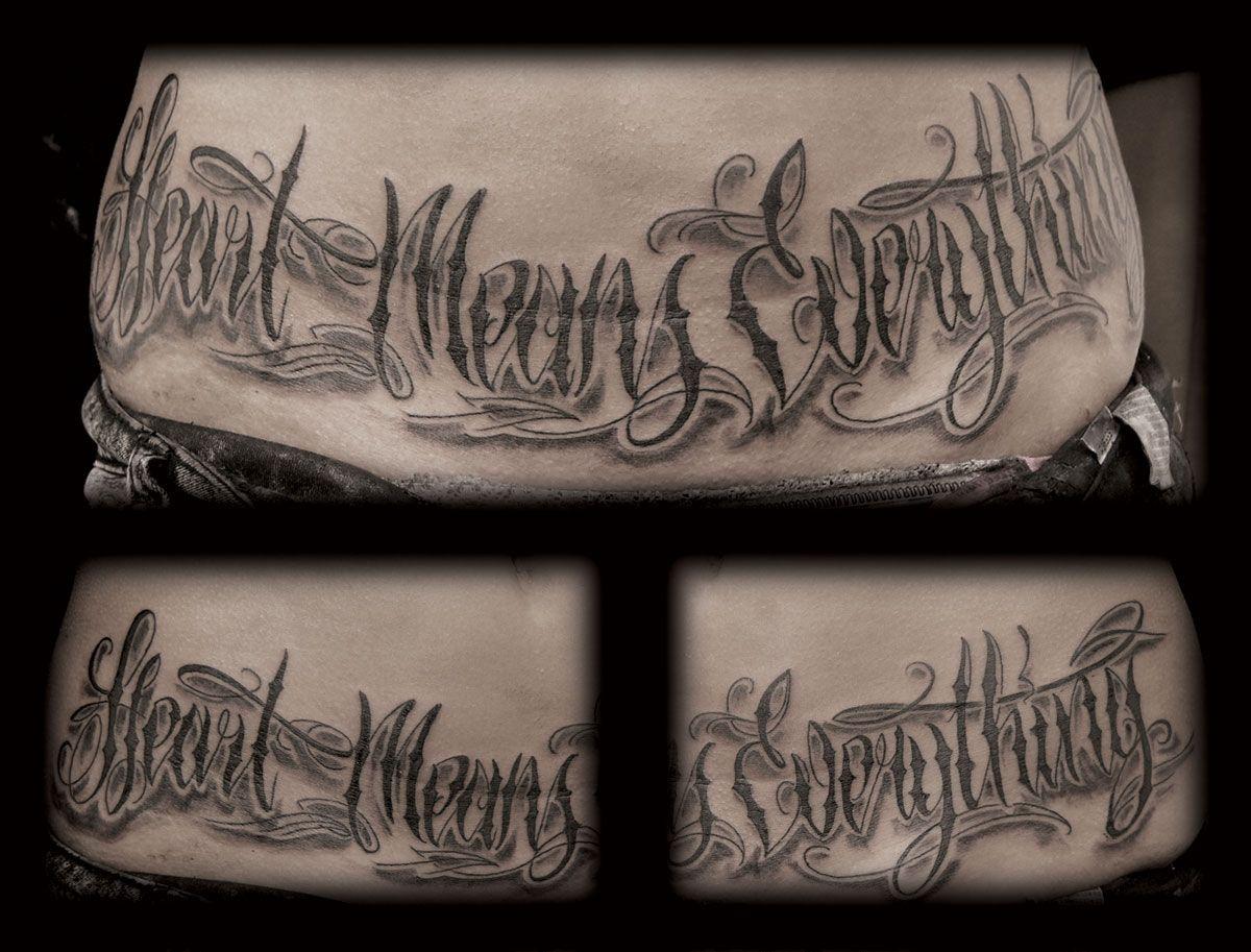 Http tattoosaddict com beautiful chicano gangsta lettering
