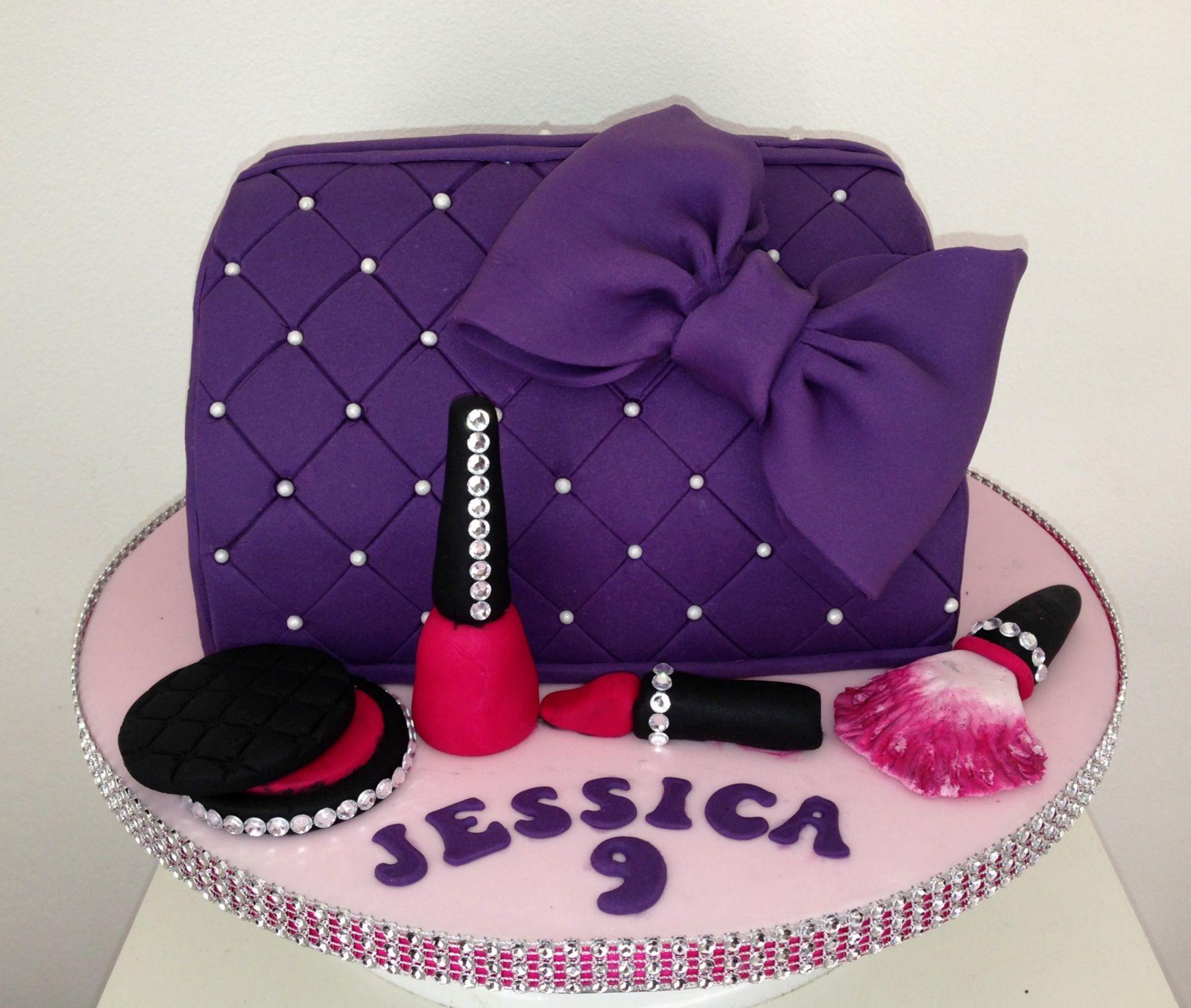 Make up bag cake | Cakes & Cupcakes | Pinterest