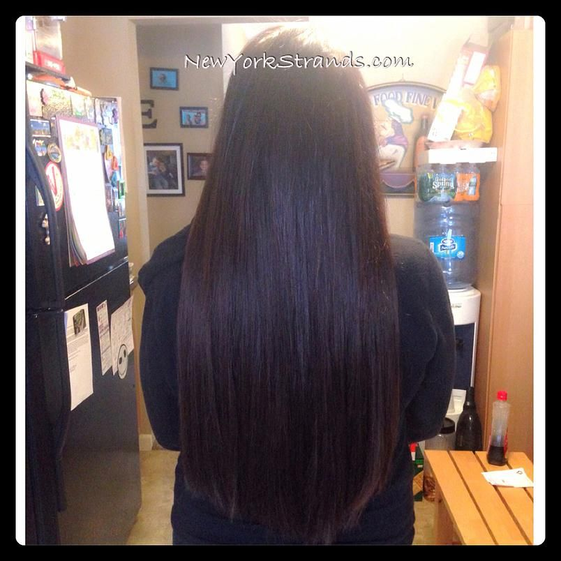 100 Remy Hair Extensions In Chelsea Chocolate Brown 22 Microbeads