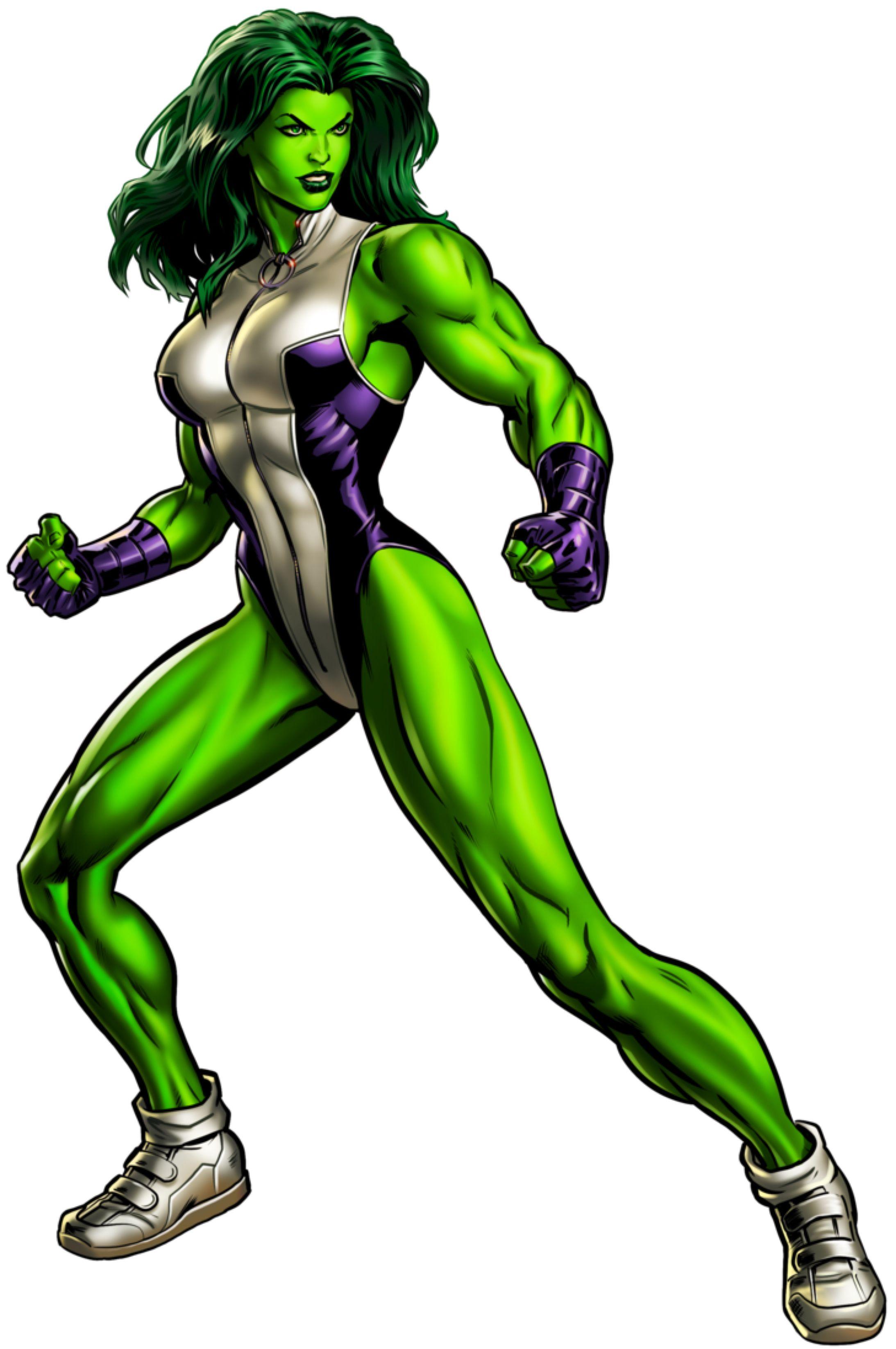 She Hulk Shehulk Hulk Marvel Heroines