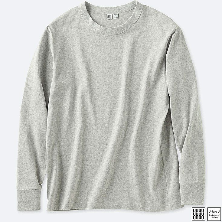 5c6bf579ce MEN U CREWNECK LONG-SLEEVE T-SHIRT