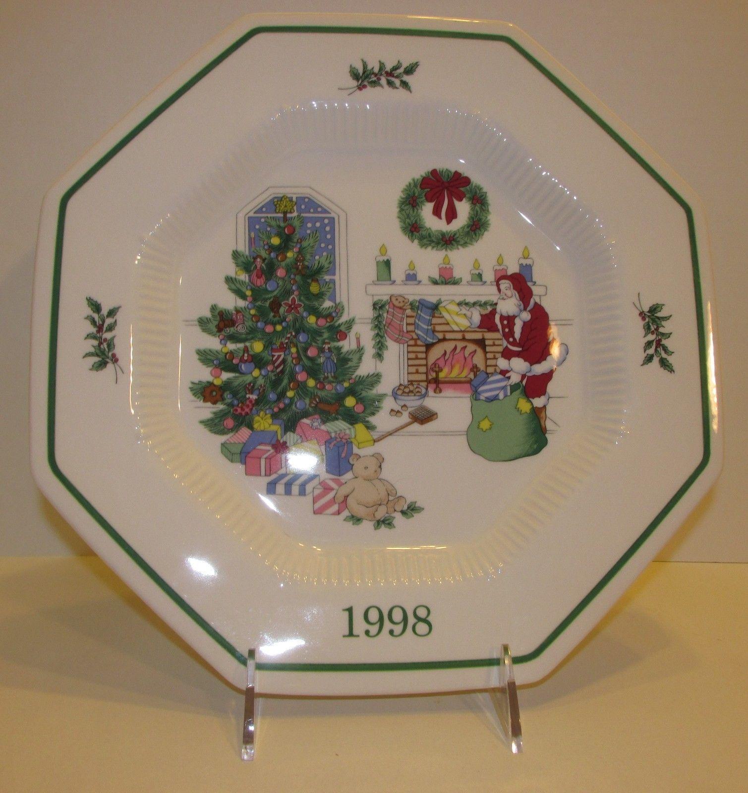 Nikko Christmastime Annual Plate 1997 1999 Chose 1 | eBay | Nikko ...