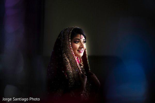 Indian Bridal Portrait http://www.maharaniweddings.com/gallery/photo/87815