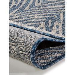 Photo of benuta In- & Outdoor-Teppich Cleo Blau 200×290 cm – für Balkon, Terrasse & Gart…