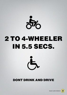 16 Shocking Anti Drinking Ads Dont Drink And Drive Drive Poster