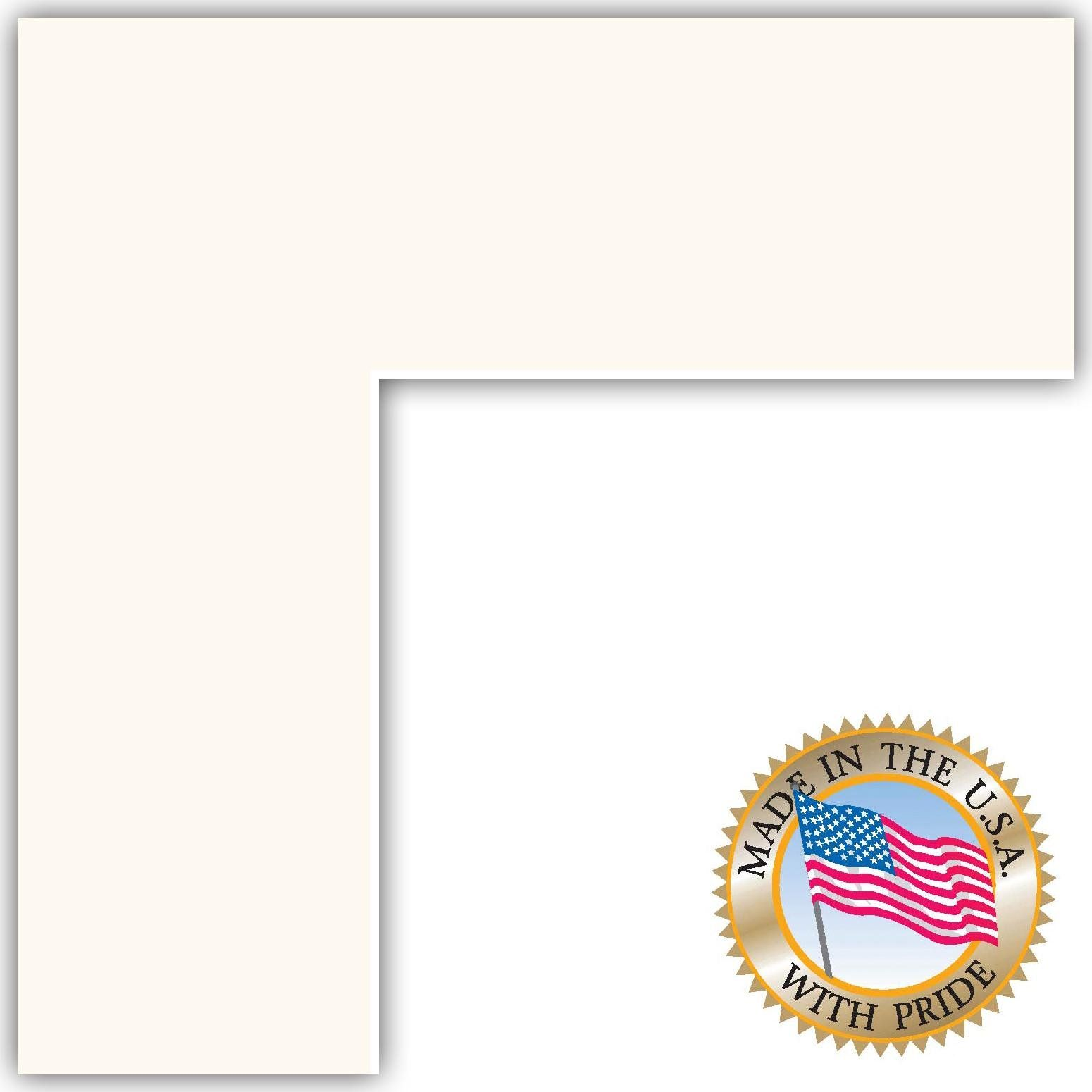 Amazon.com - 16x16 Super White Custom Mat for Picture Frame with ...