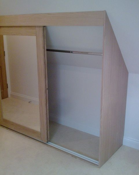 Attic Wardrobe Shelves