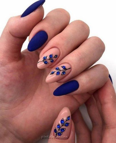 20+ Stunning Fall Acrylic Nail Designs and Ideas 2020 - Pintube