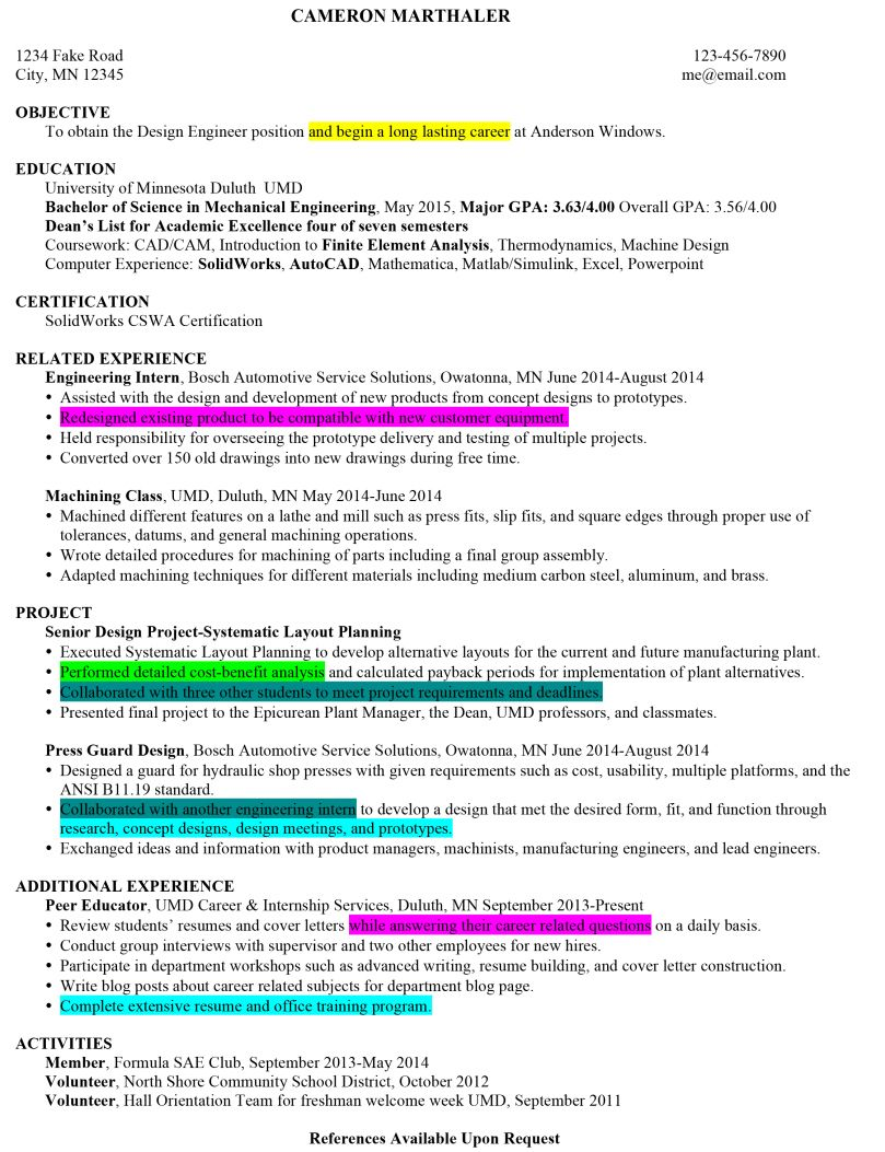 Posts About Resumes Cover Letters On Peer Into Your Career Cover Letter For Resume Good Resume Examples Lettering