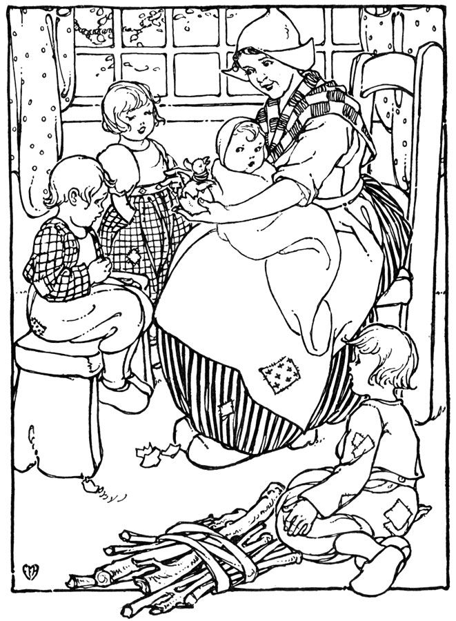 dutch children coloring pages - photo#36