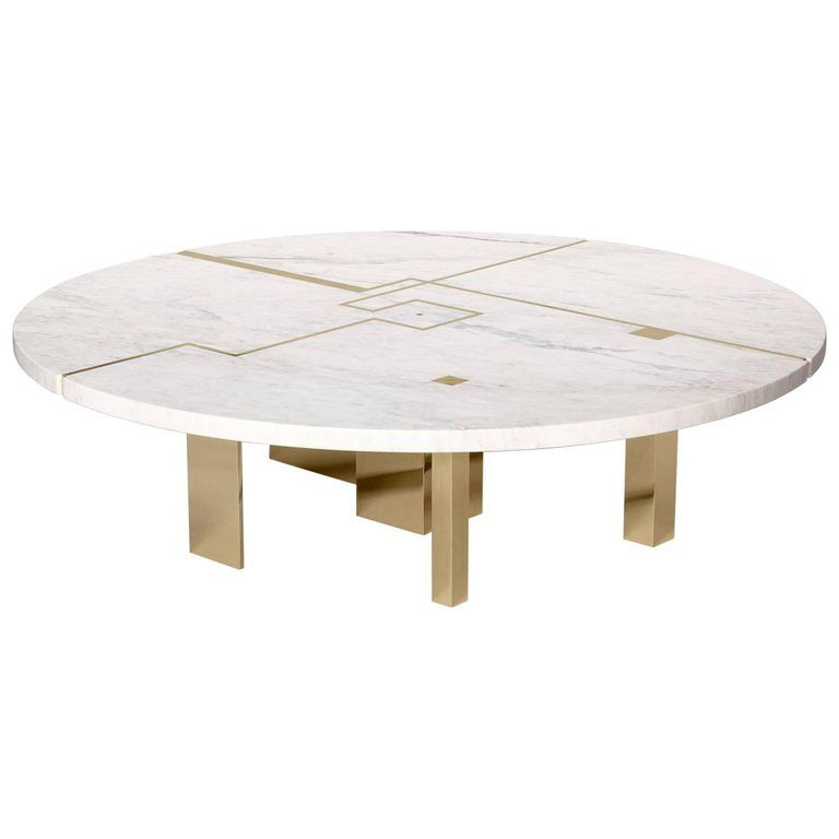 Herve Langlais Coffee Cocktail Table Architecture Herve