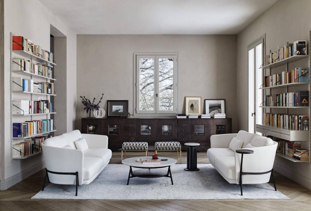 Come abbinare e disporre i divani in salotto: esempi ...