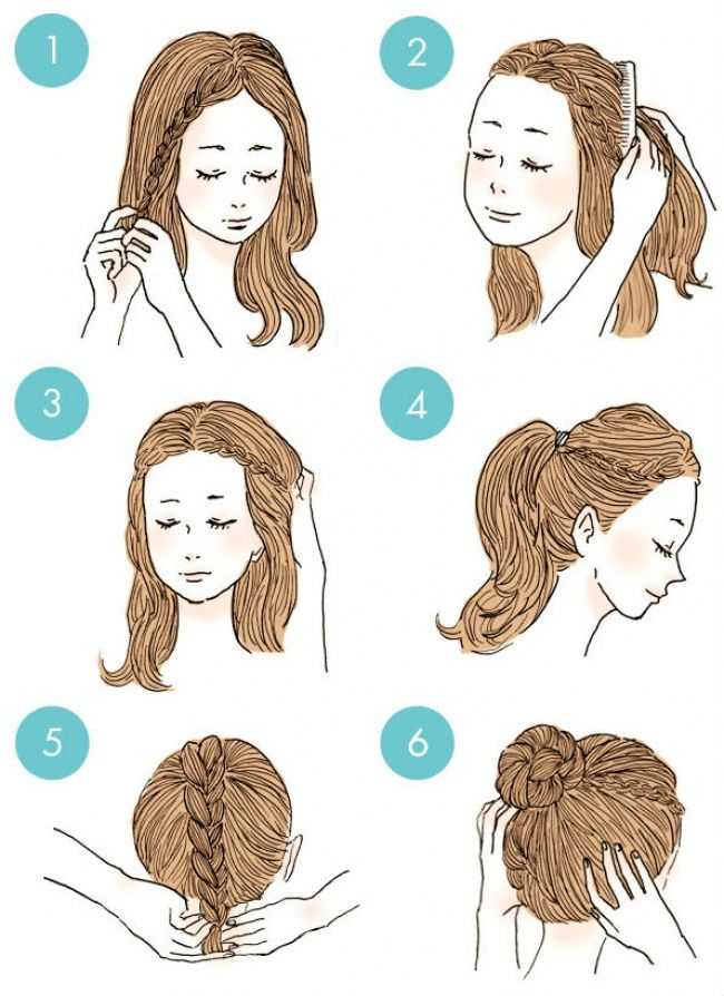 These 20 Cute Hairstyles Are So Easy Anyone Can Do Them Braided Hairstyles Medium Hair Styles Hairstyle