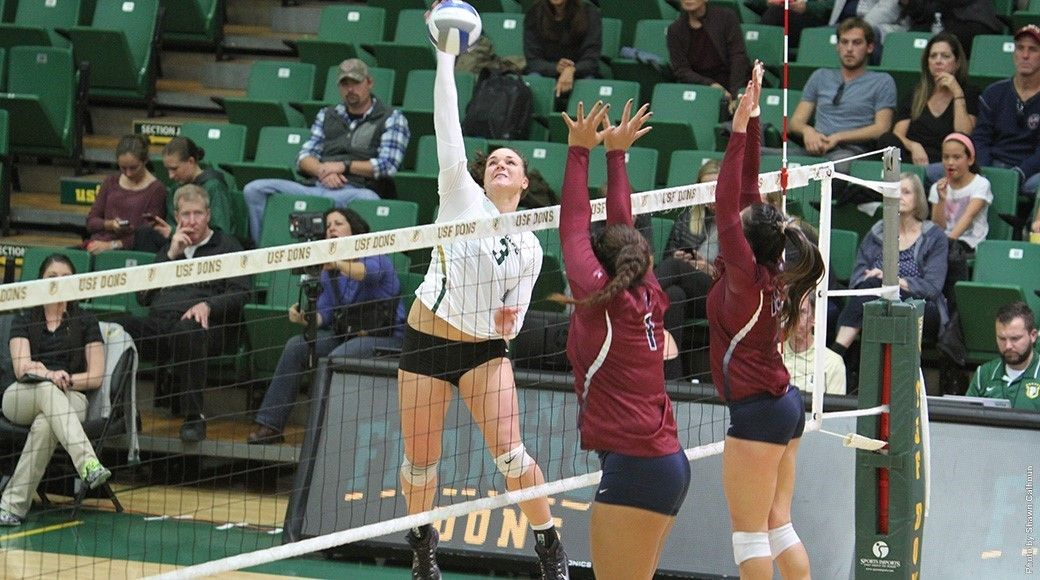 Dons Fall At San Diego 3 0 University Of San Francisco Volleyball News San Diego