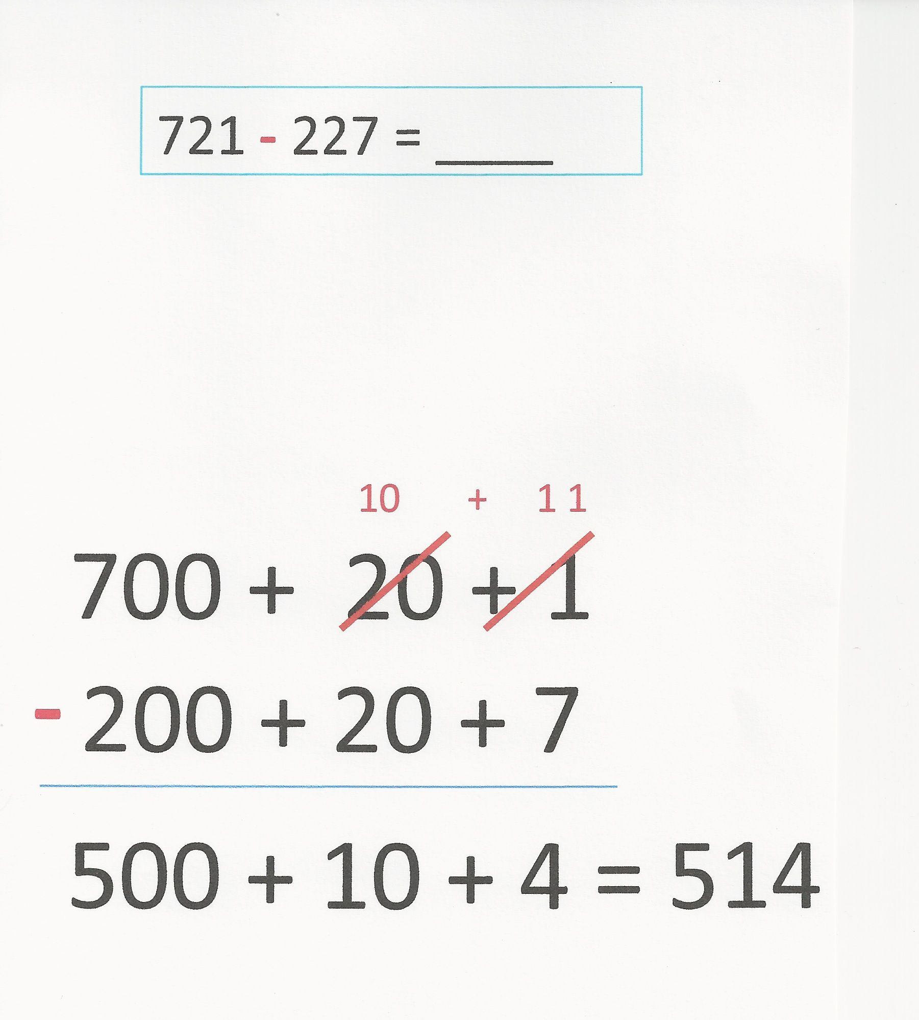 Add and subtract within 1000, using concrete models or