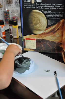 Push Light Planets, great activity for kids!!