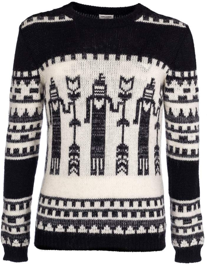 Laurent Knit Wool Products Totem In Saint 2018 Pullover dtSw7Avdqx