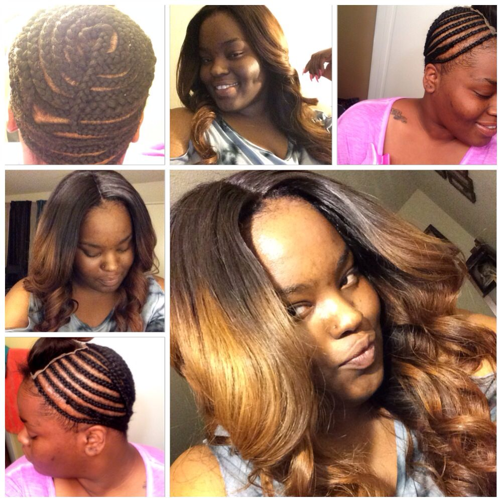 Hair Weave Sew In Hair Styles Pinterest Hair Weaves Braid