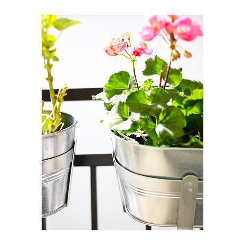h st jardini re avec support ikea zingu prot ge le. Black Bedroom Furniture Sets. Home Design Ideas