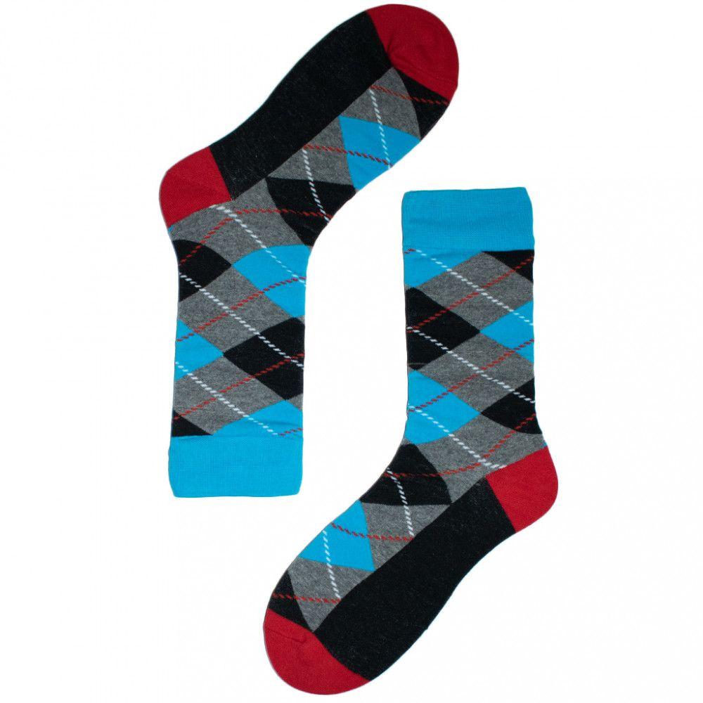 جورب المعينات Rhombus Sock Socks Fashion