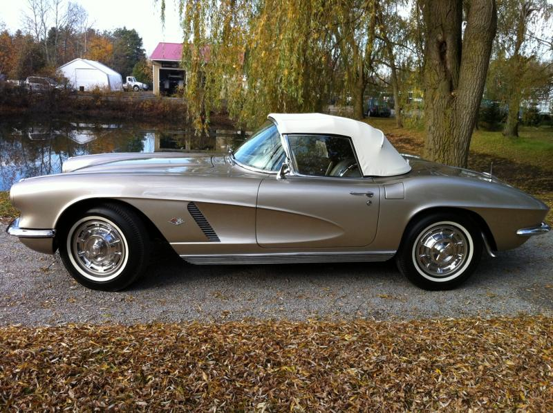1962 Corvette Convertible For Sale In Ontario 62 Corvette Convertible Corvette Rv For Sale Chevy Corvette For Sale