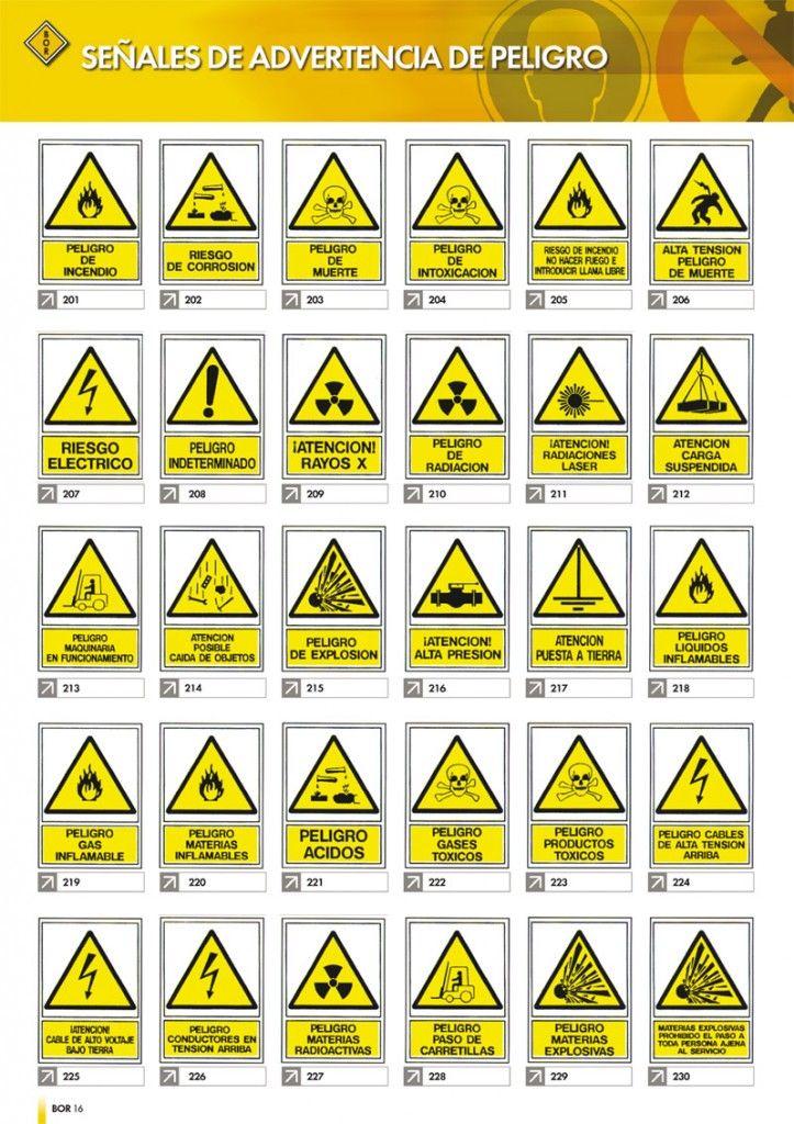 Señales de advertencia de peligro. | señales de peligro, prevención ...