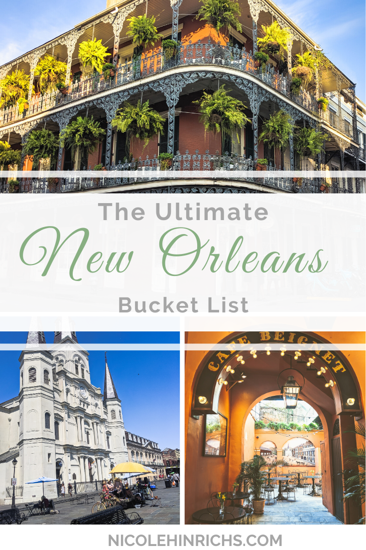 The Ultimate New Orleans Bucket List #usatravel