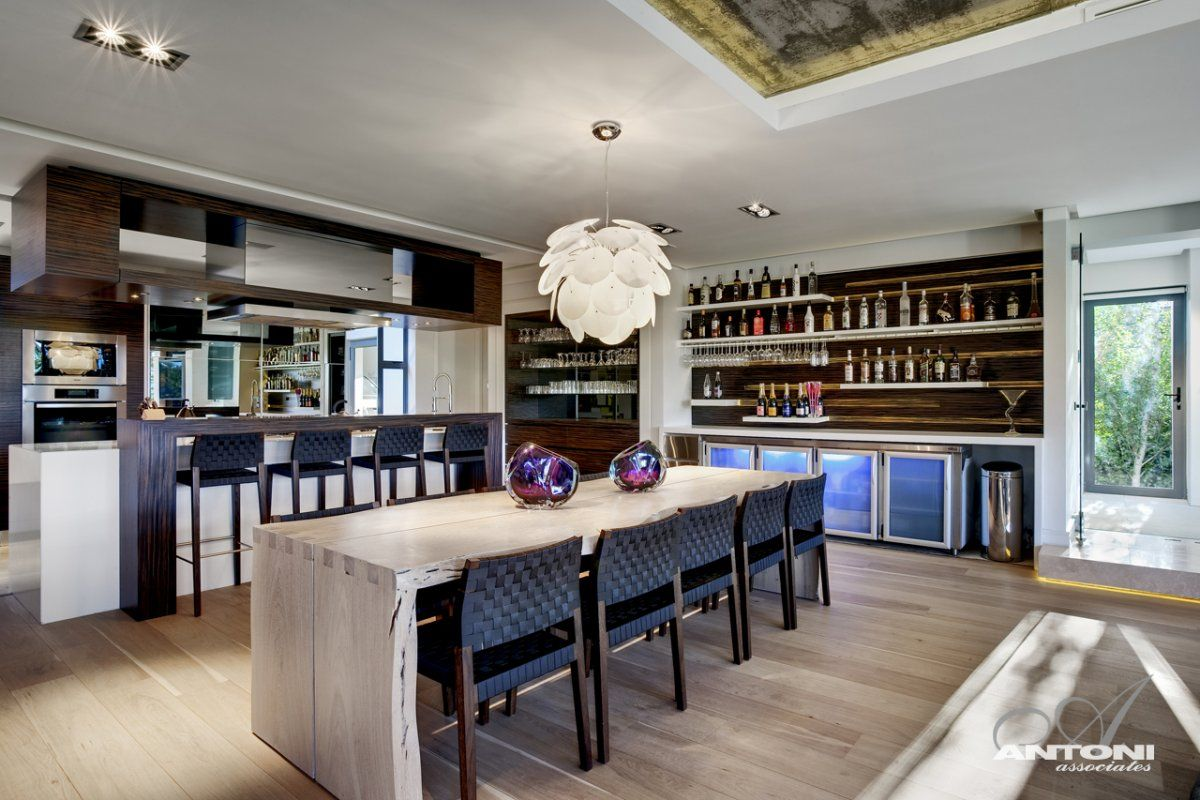Long kitchen tables  Dining Table Luxurious Interior Pearl Valley Golf Estate South