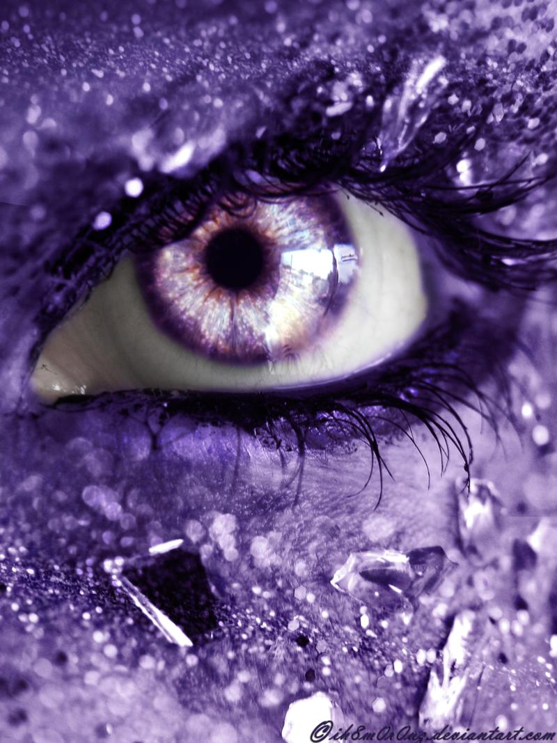 Фиалковые глаза картинки