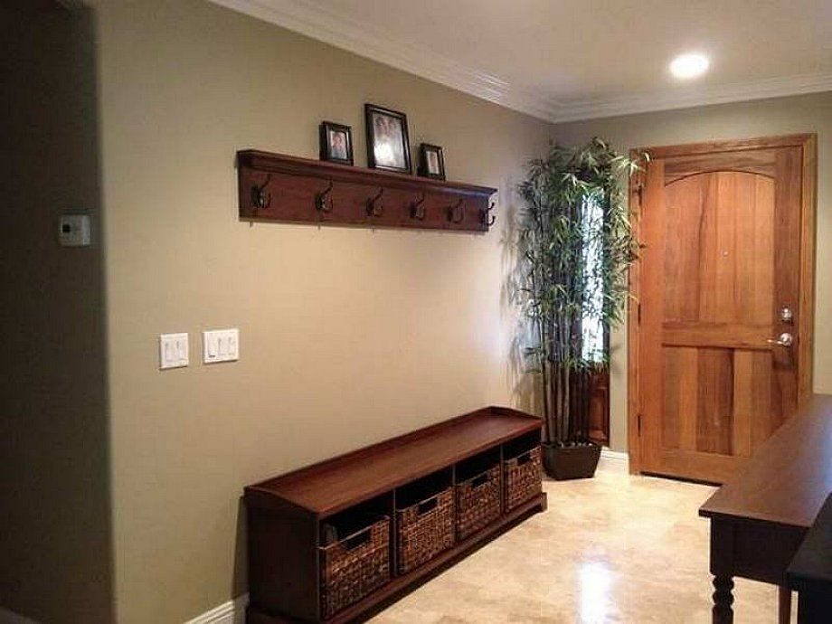 Simple Entryway Benches Kitchen And Entry Way Pinterest Diy Coat Rack Ceramic Tile Floors