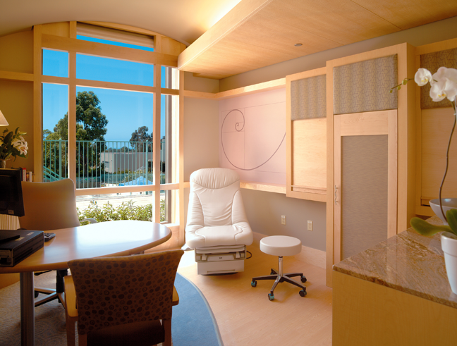 Scripps center for integrative medicine la jolla ca for Medical office interior design