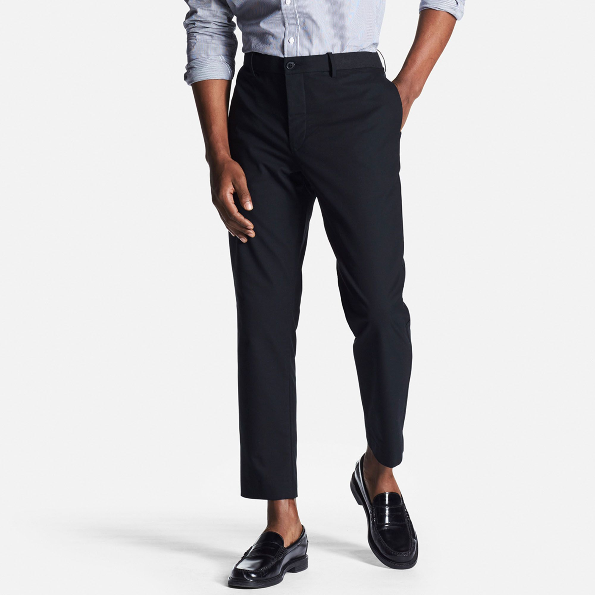 New Look Mens Relaxed Trousers