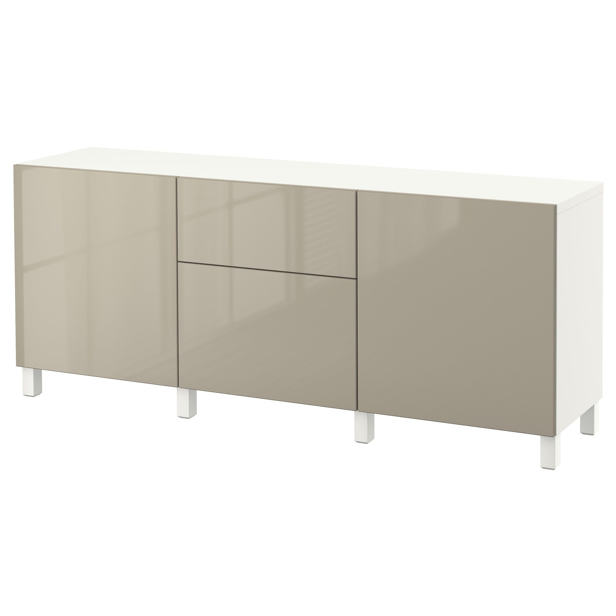 Ikea Bestå Storage Combination With Drawers White